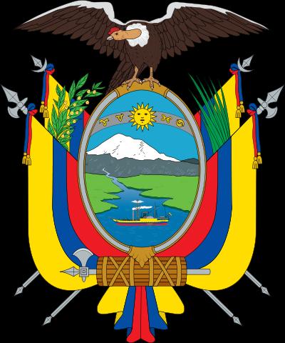 o escudo de Equador em alta resolução