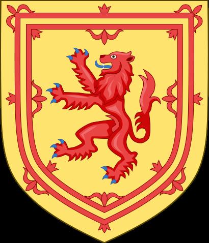 el escudo de Escocia en gran resolucion