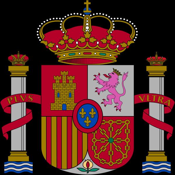o escudo de Espanha em alta resolução