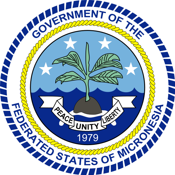 coat of arms of Federated States of Micronesia high resolution
