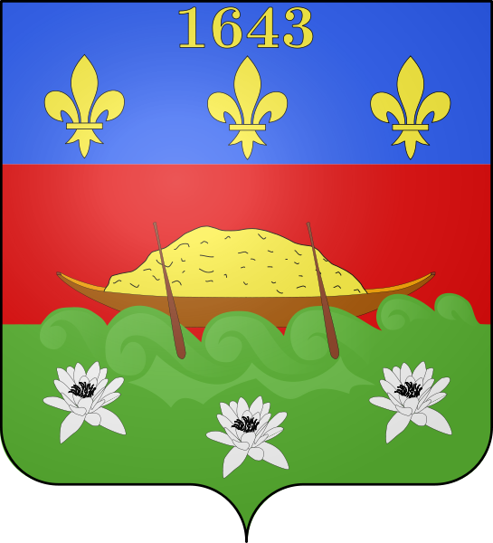 coat of arms of French Guiana high resolution