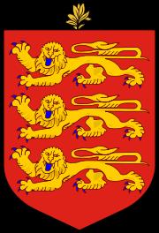 el escudo de Guernsey en gran resolucion