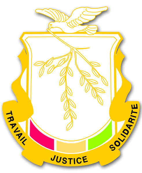 coat of arms of Guinea high resolution