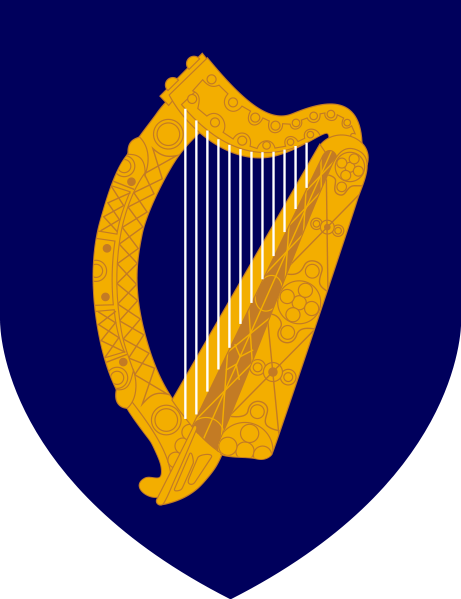 coat of arms of Ireland high resolution