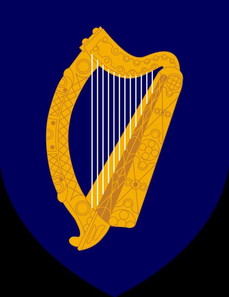 el escudo de Irlanda en gran resolucion