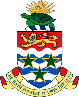 coat of arms of Cayman Islands high resolution