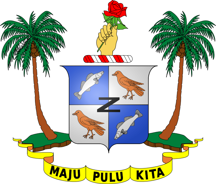 coat of arms of Cocos Islands high resolution