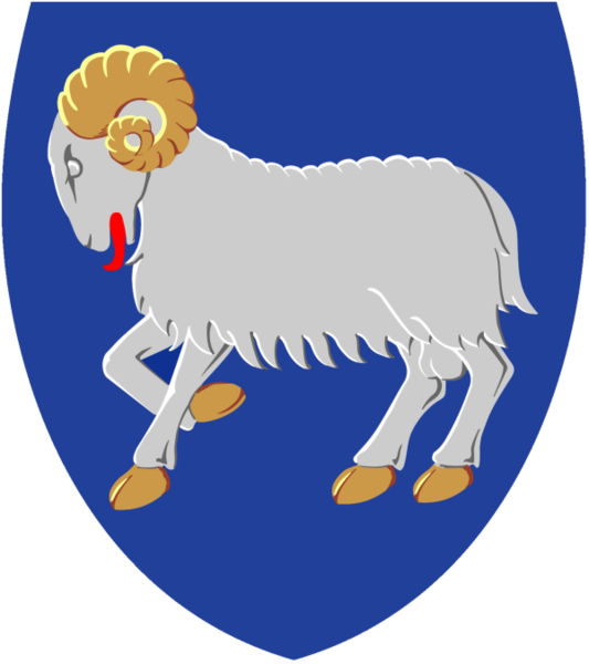 coat of arms of Faroe Islands high resolution