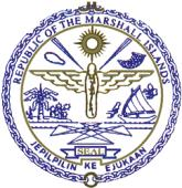 coat of arms of Marshall Islands high resolution
