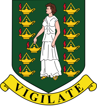 coat of arms of British Virgin Islands high resolution
