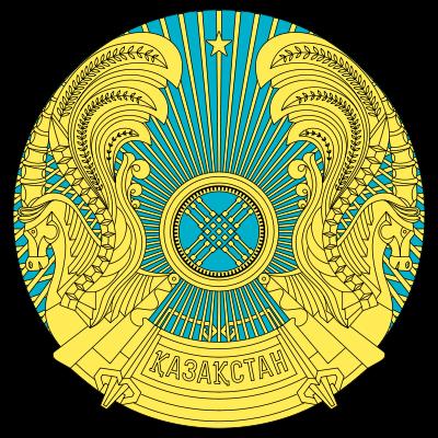 blason de Kazakhstan haute résolution