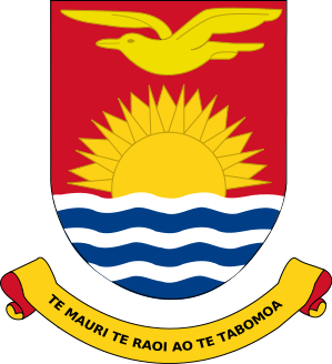 coat of arms of Kiribati high resolution