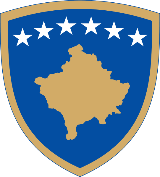 coat of arms of Kosovo high resolution