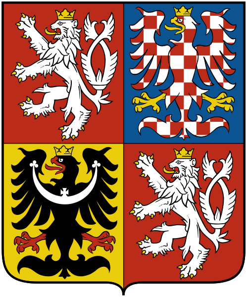 coat of arms of Czech Republic high resolution