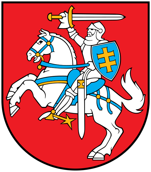 coat of arms of Lithuania high resolution