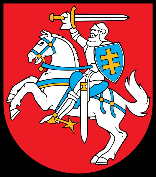 Wappen des Litauen hohe Auflösung