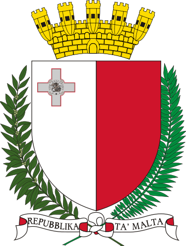coat of arms of Malta high resolution