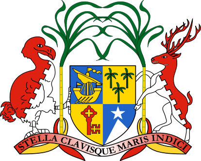 coat of arms of Mauritius high resolution