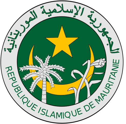 coat of arms of Mauritania high resolution