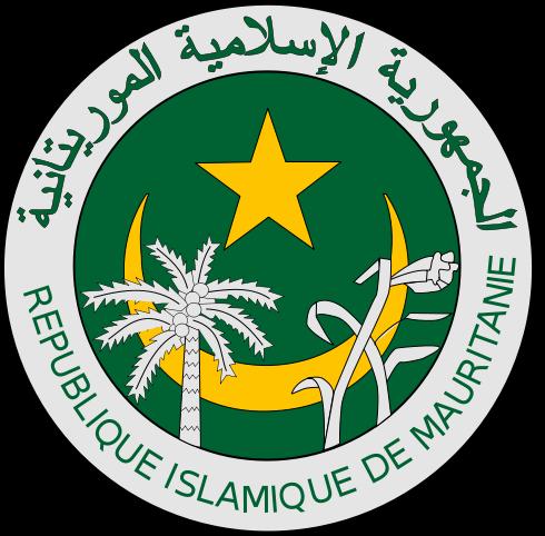 Wappen des Mauretanien hohe Auflösung