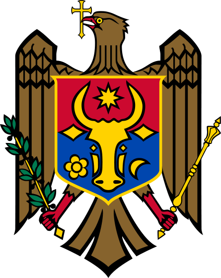 coat of arms of Moldova high resolution