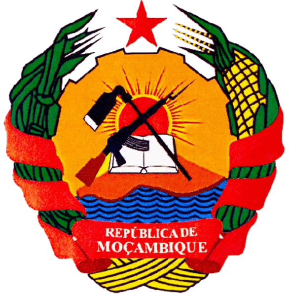 coat of arms of Mozambique high resolution