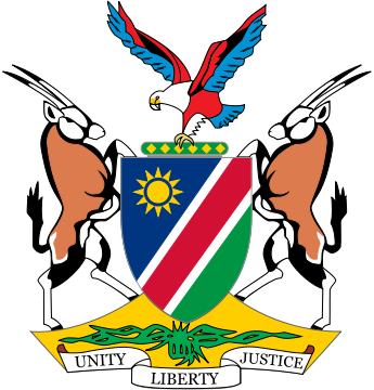 coat of arms of Namibia high resolution