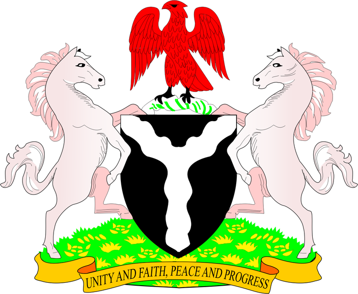 coat of arms of Nigeria high resolution