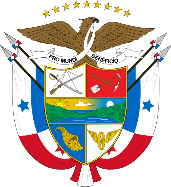 coat of arms of Panama high resolution