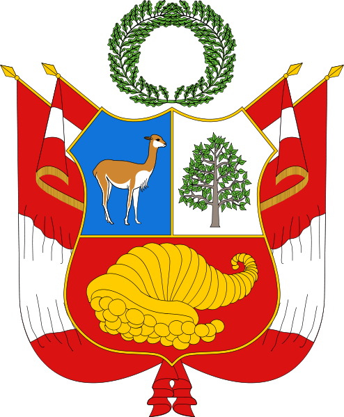 coat of arms of Peru high resolution