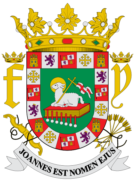 coat of arms of Puerto Rico high resolution