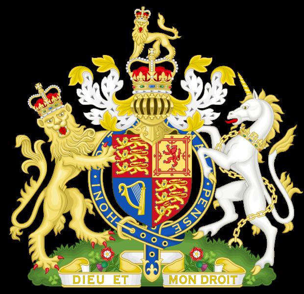 blason de Royaume-Uni haute résolution