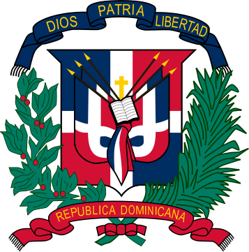 coat of arms of Dominican Republic high resolution