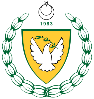 coat of arms of Turkish Republic of Northern Cyprus high resolution