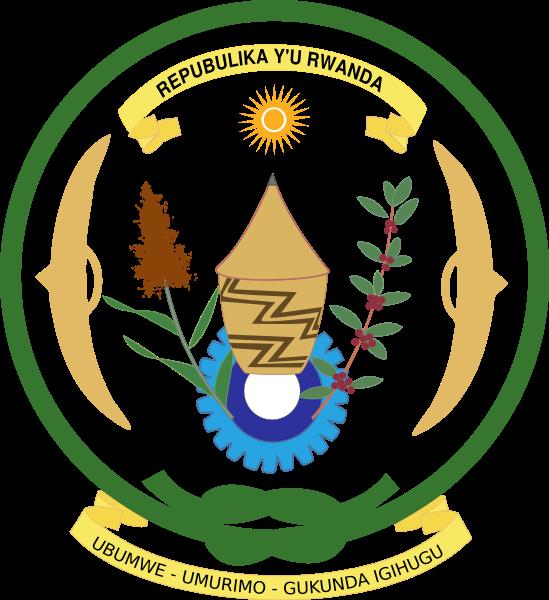 el escudo de Ruanda en gran resolucion