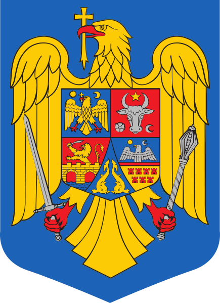 coat of arms of Romania high resolution