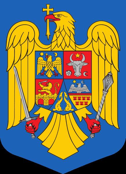 Wappen des Rumänien hohe Auflösung