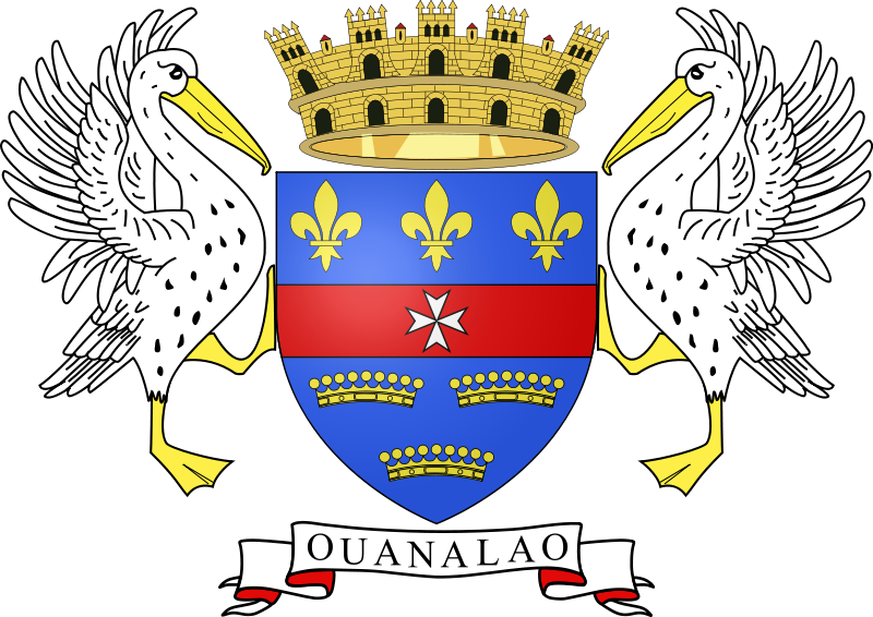 coat of arms of San Bartolomé (France) high resolution