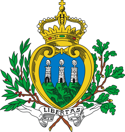 coat of arms of San Marino high resolution