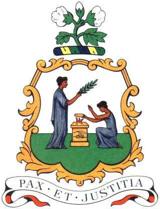 Wappen des St. Vincent und die Grenadinen hohe Auflösung