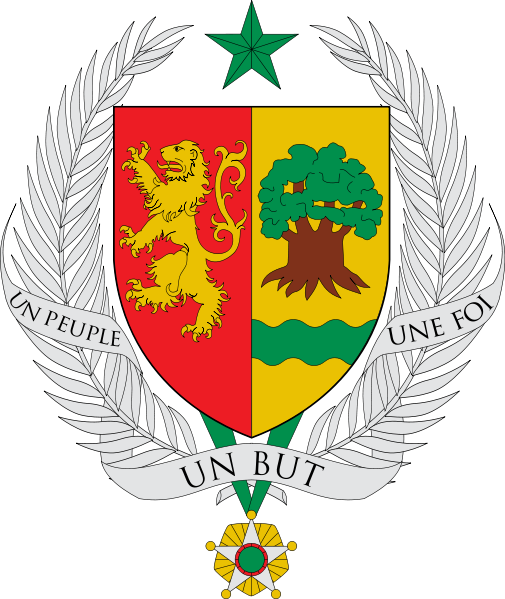 coat of arms of Senegal high resolution