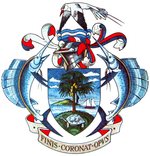 coat of arms of Seychelles high resolution