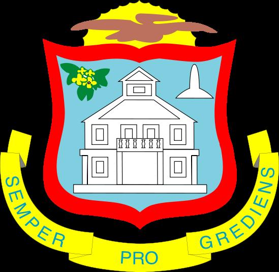 coat of arms of Sint Maarten high resolution