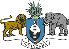coat of arms of Swaziland high resolution