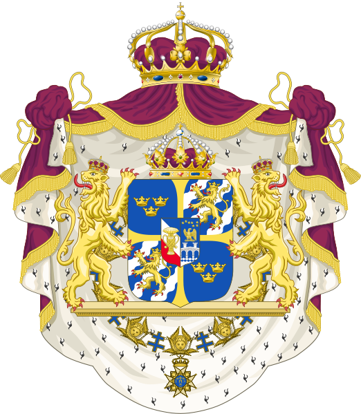 coat of arms of Sweden high resolution