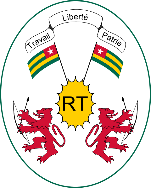coat of arms of Togo high resolution