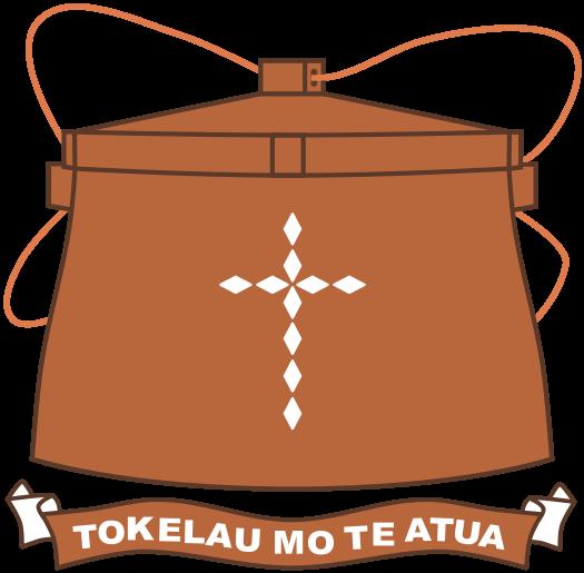 el escudo de Tokelau en gran resolucion