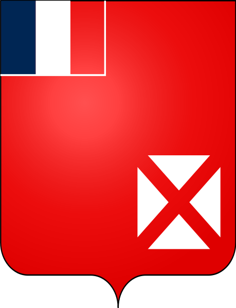 coat of arms of Wallis and Futuna high resolution