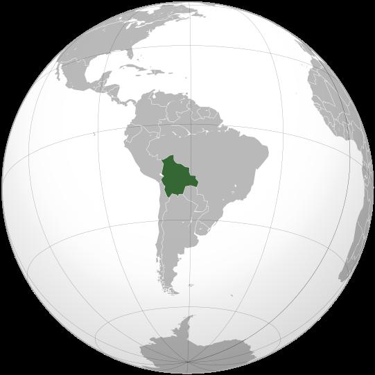 la situacion de Bolivia en gran resolucion