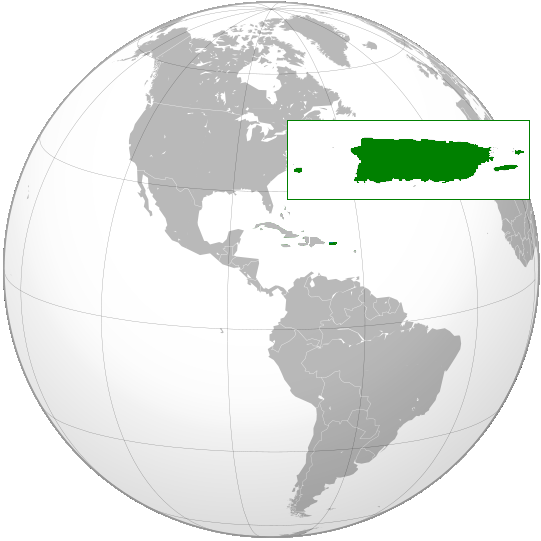 location of Puerto Rico high resolution